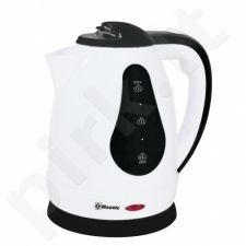 MSONIC ELECTRIC KETTLE 1,8L, 1800W WHITE-BLACK