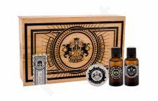 DEAR BARBER Beard Oil, rinkinys barzdos aliejus vyrams, (Beard Oil 30 ml + Moustache Wax 25 ml + EDT With Confidence 30 ml)