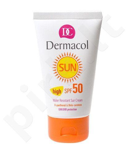 Dermacol Sun WR Sun kremas SPF50, kosmetika moterims, 50ml