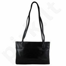 DAN-A T51 juoda rankinė iš natūralios odos , moteriška