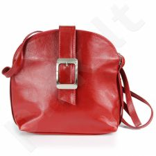 DAN-A T29 raudona rankinė, odinė, moterims