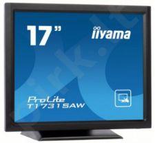 Monitorius Iiyama T1731SAW 17'' Jutiklinis CCFL, Garsiakalbiai, DVI, 5ms
