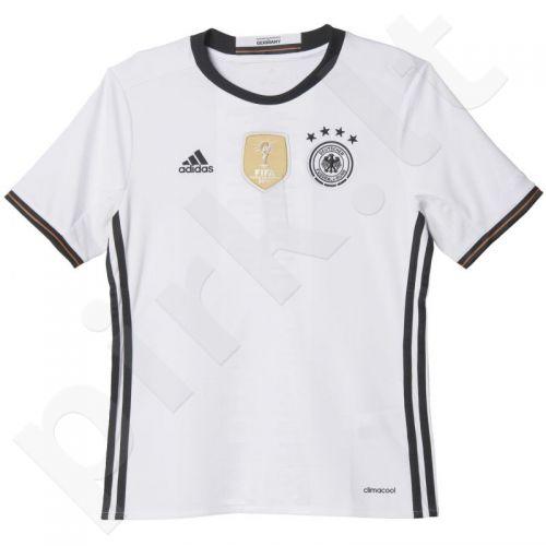 Marškinėliai futbolui Adidas Germany Replika Home Euro 2016 Junior AA0138