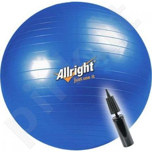 Gimnastikos kamuolys ALLRIGHT 75cm + pompa
