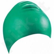 Kepuraitė plaukimui unisex lateksinė 7344 8 green
