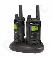 Radijo ryšio stotelė Motorola XT180, 8 km, juoda