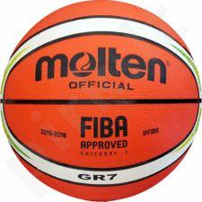 Krepšinio kamuolys Molten rubber BGR7-YG