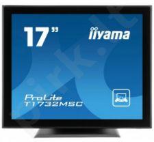 Monitorius Iiyama T1732MSC 17'' Jutiklinis CCFL, Garsiakalbiai, DVI, 5ms