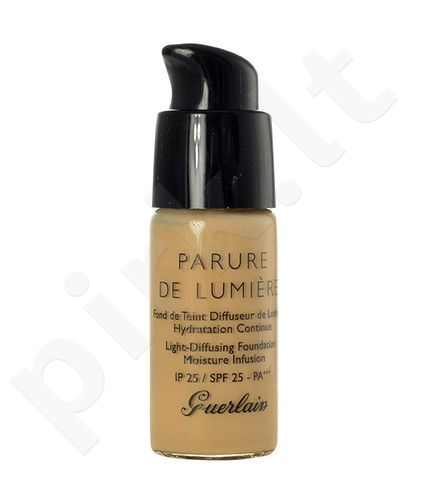 Guerlain Parure De Lumiere kreminė pudra SPF25, kosmetika moterims, 15ml, (testeris), (23 Doré Naturel)