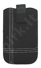17-A baltas SEAM universalus dėklas S5570 Telemax juodas