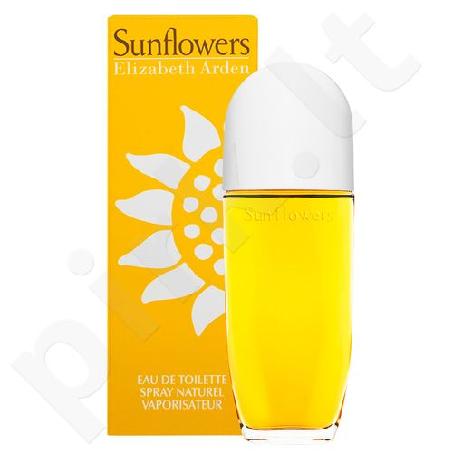 Elizabeth Arden Sunflowers, EDT moterims, 50ml[pažeista pakuotė]