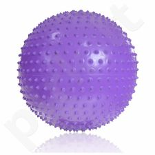 Masažinis gimnastikos kamuolys PROFIT 55cm fioletowa DK 2104