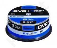 DVD+R DL DoubleLayer Intenso [ cakebox 25 | 8,5GB | 8x ]