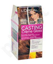 L´Oreal Paris Casting Creme Gloss, plaukų dažai kosmetika moterims, 1vnt, (603 Chocolate Caramel)