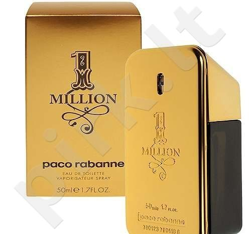 Paco Rabanne 1 Million, tualetinis vanduo (EDT) vyrams, 200 ml