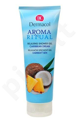 Dermacol Aroma Ritual dušo želė Caribbean Dream, kosmetika moterims, 250ml