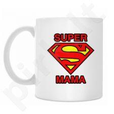 """Puodelis """"Supermenė mama"""""""