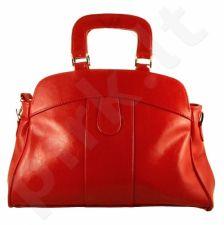 DAN-A T25 raudona rankinė, odinė, moterims