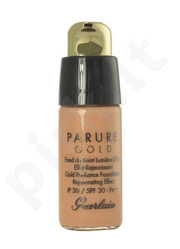 Guerlain Parure Gold Gold Radiance kreminė pudra SPF30, kosmetika moterims, 15ml, (testeris), (03 Natural Beige)