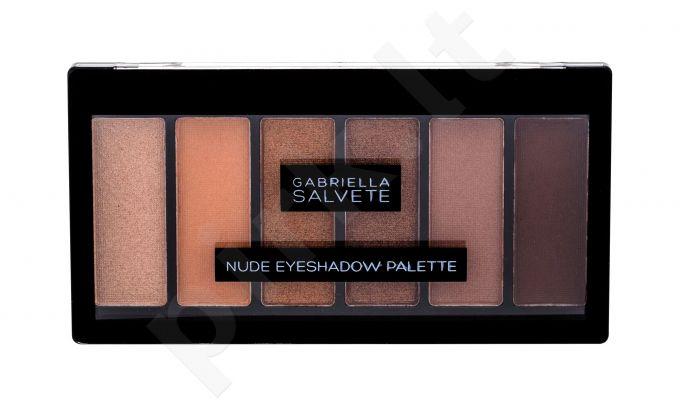 Gabriella Salvete Nude Eyeshadow Palette, akių šešėliai moterims, 12,5g