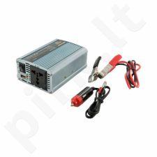 Whitenergy Inverteris AC/DC 24V (automobilis) 230V, 350W USB jungtis