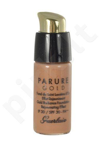 Guerlain Parure Gold Gold Radiance kreminė pudra SPF30, kosmetika moterims, 15ml, (testeris), (05 Dark Beige)