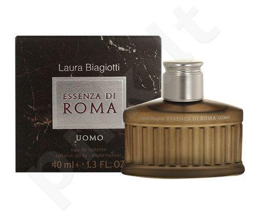 Laura Biagiotti Essenza di Roma Uomo, EDT vyrams, 40ml