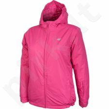 Slidinėjimo striukė 4f Junior T4Z16-JKUDN001 rožinės spalvos