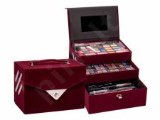 Makeup Trading Beauty Case Velvety, rinkinys makiažo paletė moterims, (Complete makiažo paletė)
