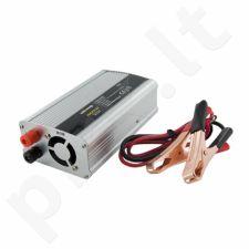 Whitenergy Inverteris AC/DC 24V (automobilis) 230V, 400W USB jungtis