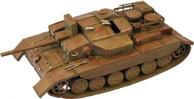 Metalo gaminys Tankas 69358