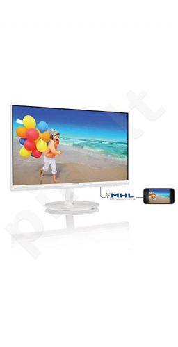 Monitorius Philips E-line 234E5QHAW/0 23'' AH-IPS,LED, FHD, 2xHDMI, Garsiak.