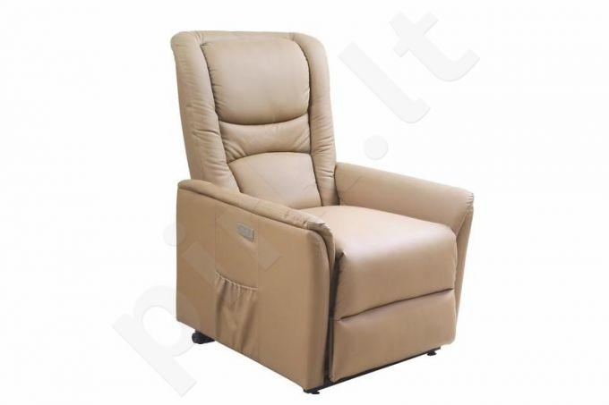 Fotelis su šildymo ir masažo funkcija SENATOR