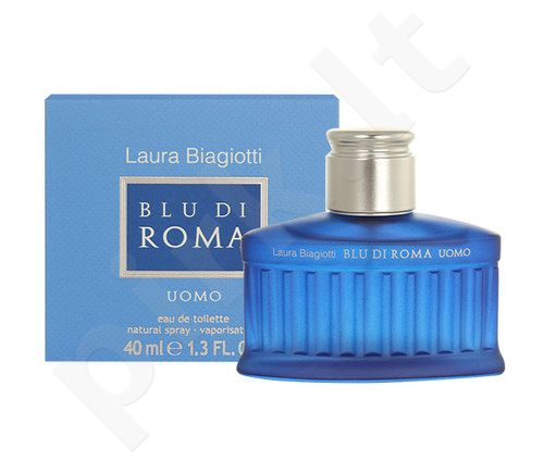 Laura Biagiotti Blu di Roma Uomo, EDT vyrams, 40ml