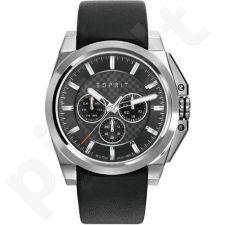Esprit ES108711001 Black vyriškas laikrodis