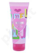 Moschino Pink Bouquet, kūno losjonas moterims, 200ml[pažeista pakuotė]