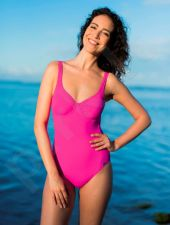 Maudymosi kostiumėlis moterims BASIC 2106 43 44 pink