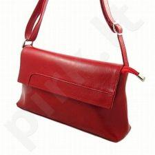 DAN-A T70 raudona rankinė, odinė, moterims