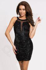 EVA&LOLA suknelė - juoda 9706-4