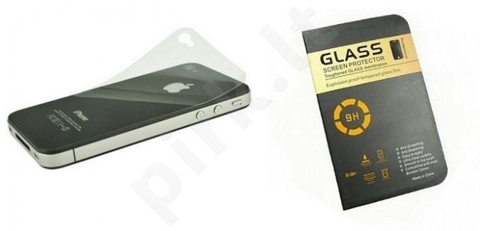 Apple iPhone 5 nugarėlės stiklas 9H Telemax peratomas