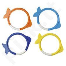Nardymo žiedai DIVING RINGS FISH numeruoti 96133