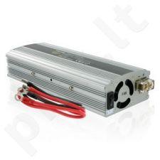 Whitenergy Inverteris AC/DC 24V (automobilis) 230V, 800W USB jungtis