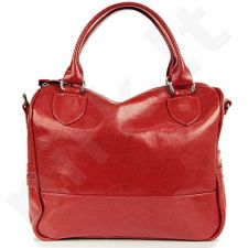 DAN-A T87 raudona rankinė, odinė, moterims