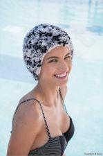 Kepuraitė plaukimui Frill Swim PE 3449 22 black/white