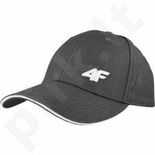 Kepurė  su snapeliu 4f M H4L17-CAM001 pilkas