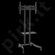 LOGILINK -  TV stand cart, adjustable TV height, 37-70'', max. 40 kg