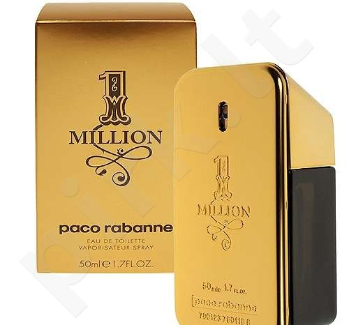 Paco Rabanne 1 Million, tualetinis vanduo (EDT) vyrams, 100 ml