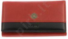 KRENIG Scarlet 13022 raudona piniginė odinė, moterims