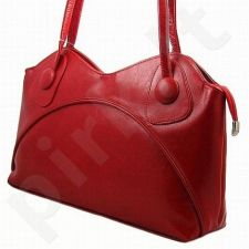DAN-A T78 raudona rankinė, odinė, moterims