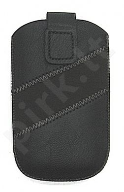17-B1 juodas BAND universalus dėklas S5570 Telemax juodas